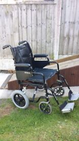 Roma Foldable Wheelchair