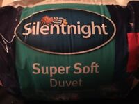 Duvets (brand new) NQP. Any size or tog, all £10