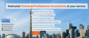 Corporate & Personal Taxes | Online/Regular Bookkeeping |Payroll