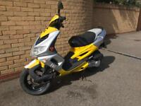 2007 Peugeot Speedfight 2 100cc 12 months mot