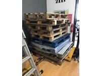 10 x used pallets in Marple Cheshire free collection only