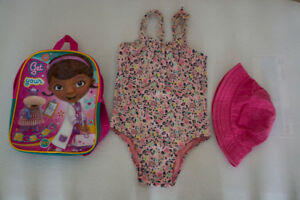 Ensemble  baignade (swimming set) fille 4ans