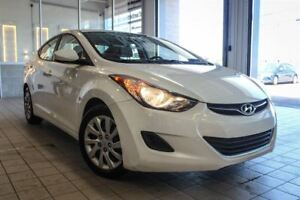 2013 Hyundai Elantra L 1 PROPRIETAIRE, BLUETOOTH