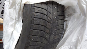 Michelin X ICE winter tires. Set of 4