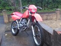 HONDA XR250R