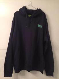 Men's Navy Lonsdale Hoodie Brand New Size XXL Collection Only