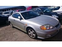 2002 HYUNDAI LANTRA COUPE FX EV, 1.6 PETROL, BREAKING FOR PARTS ONLY, POSTAGE AVAILABLE NATIONWIDE