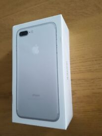 Seal pack brand new silver apple iphone 7 plus £525