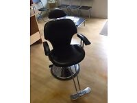 Full Reclining Barbers Chair FOR SALE