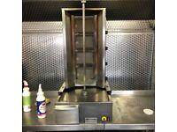 Archway 4 burner donner machine