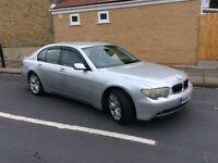 BMW 7 Series 3.0cc 04 Reg AUTOMATIC Saloon