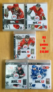 Collection of Great PS3 Games. Mint Condition. Low Prices