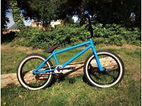 "Brand New ONE OF A KIND Custom Bike: Amity Russo 21"" Quality components: Shadow United Eclat GT BMX"