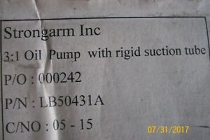 45 GALLON OIL PUMP, BRAND NEW