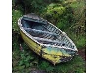Wanted Old Row Boat