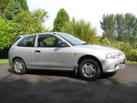 2001 Mitsubishi Colt GL LE. Full years MOT. Only 18336 miles. One lady owner from new.