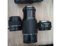 X3 Lenses