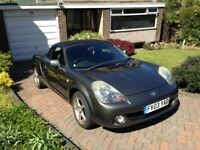 Stunning Toyota MR2 2003 best colour an SUV factory fitted tte twin exhaust