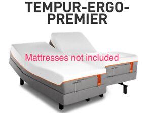 2 Tempurpedic-Premier Ergo TwinXL Adjustable Bed Bases/Bedframes