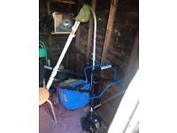 MacAllister Petrol Lawnmower & Strimmer