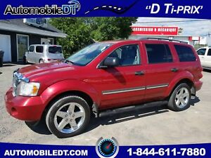 DODGE DURANGO 4X4 LIMITED 2008 ***8 PASSAGERS******MAGS 20 POUCE