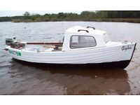 BOAT WANTED WITH OUTBOARD AND TRAILER