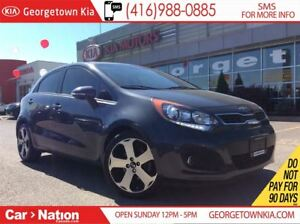 2013 Kia Rio SX w/UVO | SUNROOF | HEATED LEATHER SEATS |