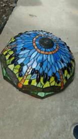 Tiffany style lamp shade only for table lamp