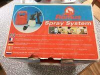 Remus spray system