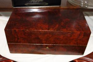 Antique Wooden Storage Box