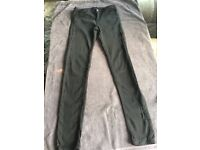 Black size 8/10 trousers