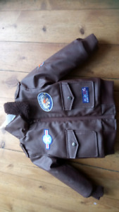 4 T Planes Leather jacket