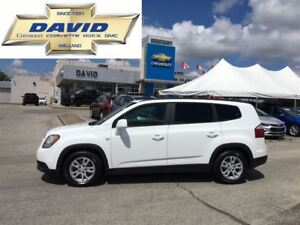 2012 Chevrolet Orlando 2LT FWD, 7PASS, LOADED, LOCAL TRADE
