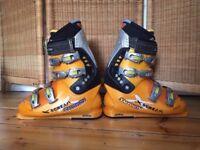Job Lot: Skis with Carry Bag, Bindings, Salomon Ski Boots w/Carry Bag, Ski Poles