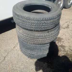 low kms 245/70/17 tires