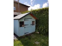 Childrens playhouse good condition £200.00