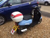 SCOOTER/MOPED ZNENZN 50 QT-51 FLAIR 50CC 2014
