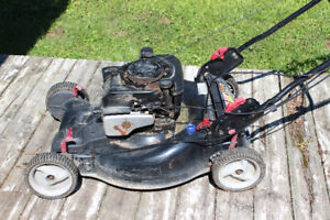 5 yr old Craftsman self drive lawnmower