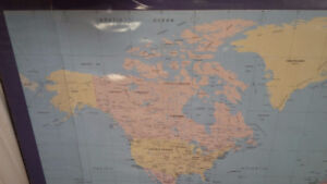 Table Map of the World - for sale !