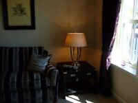 Good Quality Pair of Purple Velvet Lined Curtains
