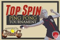 Coed Ping Pong Tournament! (Sponsored by The Crooked Cue)