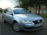 Volkswagen Passat 2.0 TDI 140 BHP Estate 6 Speed,3 OwnersWITH FULL SERVICE HISTORY,13 Service Stamps