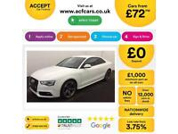 Audi A5 Black Edition £72 PER WEEK!