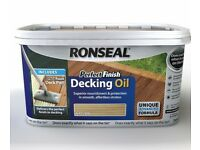 Ronseal Decking oil. Natural.