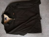 Original Tartan Lined Back FRED PERRY HARRINGTON Jacket, Size L
