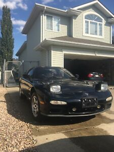 1992 Mazda rx7  FD efini SHELL AND COMPLETE PARTS MOTOR