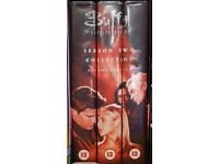 Buffy the Vampire Slayer VHS video tapes collection Season 2 Episodes 1 - 11