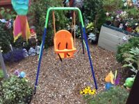 Outdoor Baby Swing with safety seat
