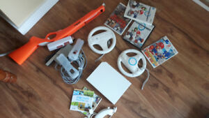 Wii game system excellent shape