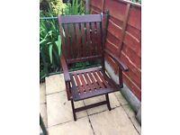 Hardwood Garden Chair.